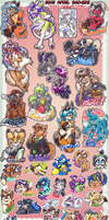 2012 'FurDU' Badge Load! by carnival