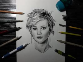 Jennifer Lawrence by Williaaaaaam