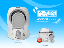 Altec Lansing AVS300 VC by djnjpendragon