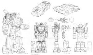 tf study: Wheeljack by beamer
