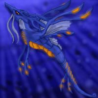 Kingdra: Deep Dweller by StellarWind