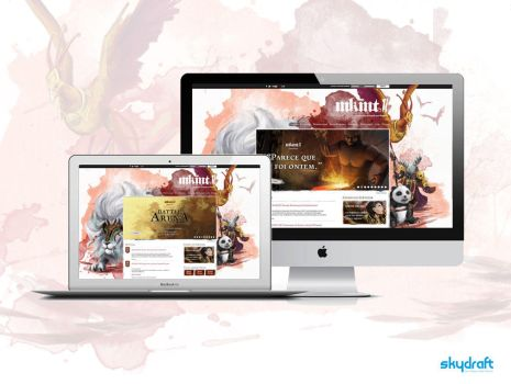 Mkmt2: Web Face-lift by aniamarcos