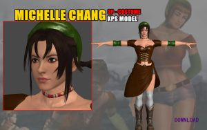 Michelle Chang TTT1 3P Costume REMAKE by Changinformatica