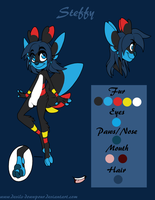 Steffy Vine Sprite Reference Sheet by Devils-DownPour