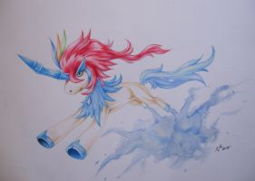 Keldeo #1 by NightmareArcanine