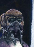 Plo Koon Sketch card by geralddedios