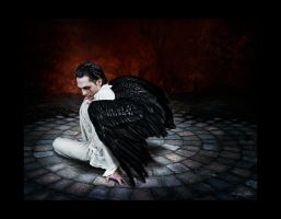 damn cool .. fallen angel.. by MoniqueDeCaro