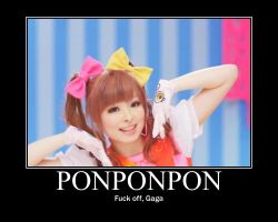 Kyary Pamyu Pamyu Motivational Poster by GotMiley2