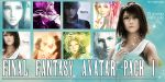 Final Fantasy - Avatar Pack1 by catycross