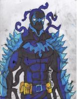 Nightwing symbiote by ChahlesXavier