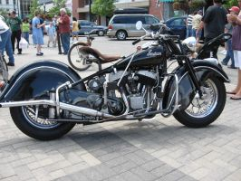 1948 Indian Chief motorcycle. by motoryeti