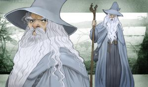 Gandalf --LOTR by Sally-Avernier