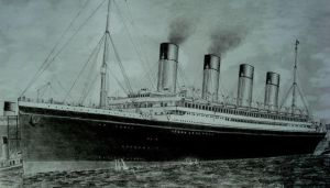 RMS Olympic in New-York. by Vadil97