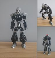 Bionicle MOC - Bounty Hunter V3.0 by StarBugs97
