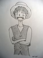 Luffy D. Monkey by DarthKenobi