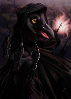 The Reaping Raven by burdfish by Foxtrack