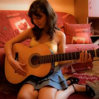 Spanish guitar by marialivia16