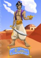 Disney Hunks 2 Aladdin by hollano