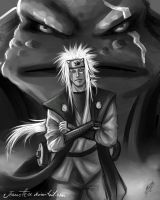 White: Jiraiya by Jeannette11