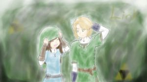 I stole Link's hat XP (this should be in scraps) by Shadowsgirl15