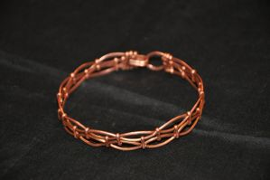 Copperbracelet1.5round by ClaireKincaid