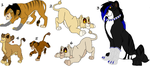 Lion Adoptables 43 by wolvesanddogs23