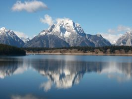 Mountain's Reflection by AydinPrower7