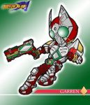 KamenRider GARREN by the-tracer