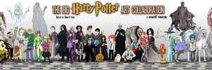 Big Harry Potter Art Collab by tavington
