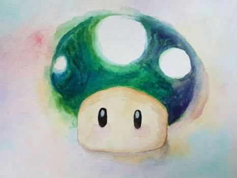 1-UP  by Mesha25