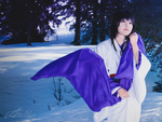 Tomoe Yukishiro: the Scent of White Ume Blossoms by AN0RIEL