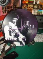 Hendrix Clock by artbyabbey