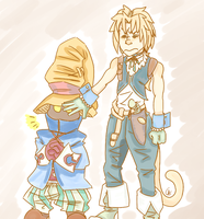 Protective Zidane by Scutlei