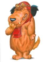Muttley by Hognatius