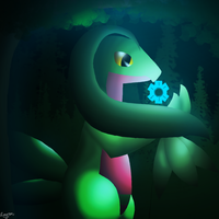253- Grovyle by EarthBound-Hat