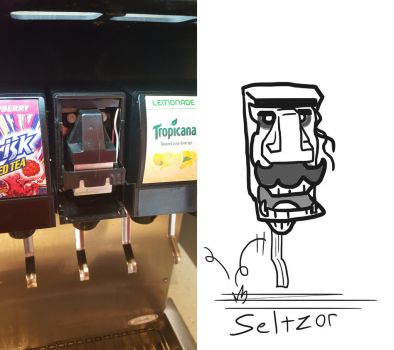 Found Characters - Seltzor by Stitchfan