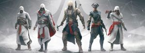 my fb cover assassins creed by kari5
