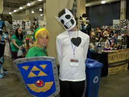 Zacharie's Adventures in Anime Boston: I Met Link by Mister-Saturn