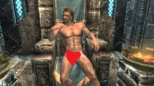Ulfric Stormcloak Naked by lostangel1987