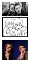 Draw Twins as Whichesters by AbnormallyNice