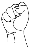 Fist (rough sketch) by mr-bigmouth-502