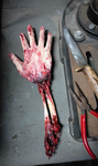 Severed Arm Prop by RabidTrapper