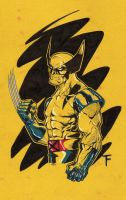 Wolverine in Yellow by Kid-Destructo