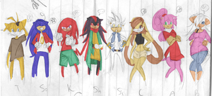 Sonic - 8YL cast by kittypopchow601