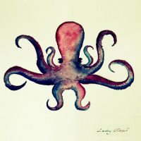 Octopus . by Lady-Koper