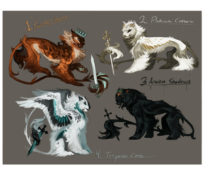 Characters III - - Auction! [CLOSED] by Kipine