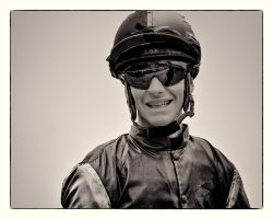 A Day At The Races -The Jockey by AndersStangl