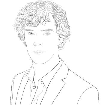 Benedict Cumberbatch by ThestralPeaches
