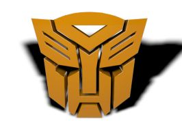 Autobot Logo Transform To Bumblebee (Animation by PlaviDemon
