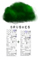 PaintTool SAI brush settings 2 (tree) by M42NGC1976